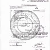 Super Vidalista® сертификат 2