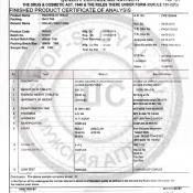 Tadarise-40 сертификат