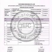 VIDALISTA-40 сертификат