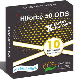 Hiforce 50 ODS Strips - дженерик Виагры в пластинках купить в Москве
