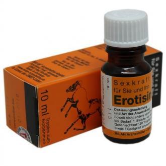 Купить Капли Erotisin (Конский возбудитель)