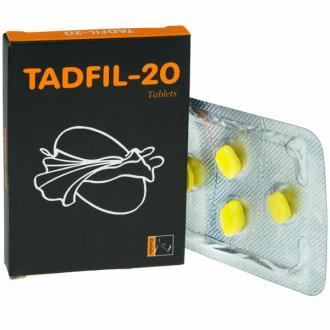 Заказать Дженерик Сиалиса TADFIL 20 купить цена от 80 рублей за таблетку, отзывы, инструкция